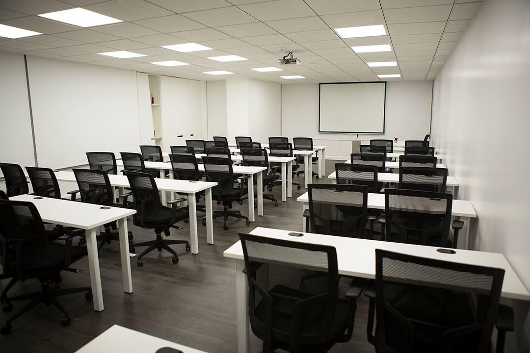 Las nuevas aulas listas para recibir a nuestros alumnos