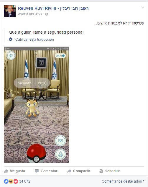 presidente isra