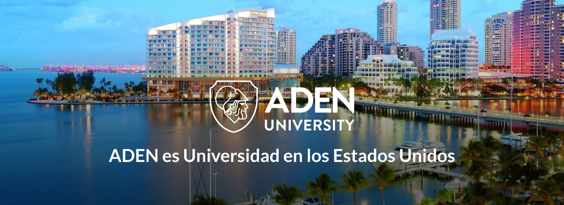 ADEN es Universidad en los Estados Unidos
