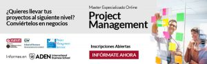 Master Online en Dirección de Proyectos