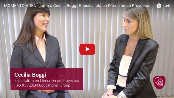Momento ADEN con Cecilia Boggi