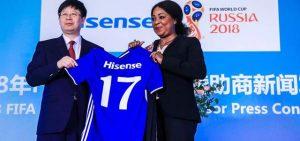 Hisense este año se convirtió en Sponsor FIFA