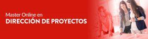 inscríbete a nuestro master en proyectos