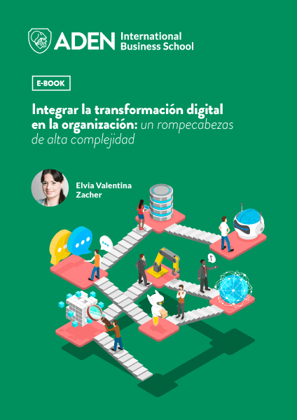 Portada ebook integrar transformacion digital en la organizacion